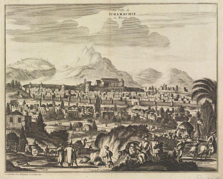 La Ville de Schamachie, en Perse top image
