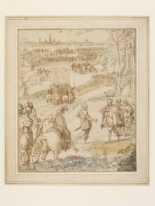 Alessandro Farnese Receiving the Surrender of the City of Antwerp in 1585 thumbnail 1