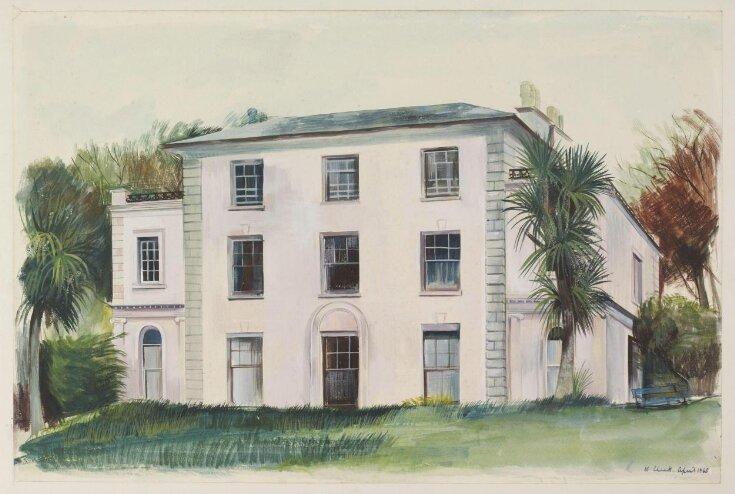 Marlborough House [garden front], Falmouth top image