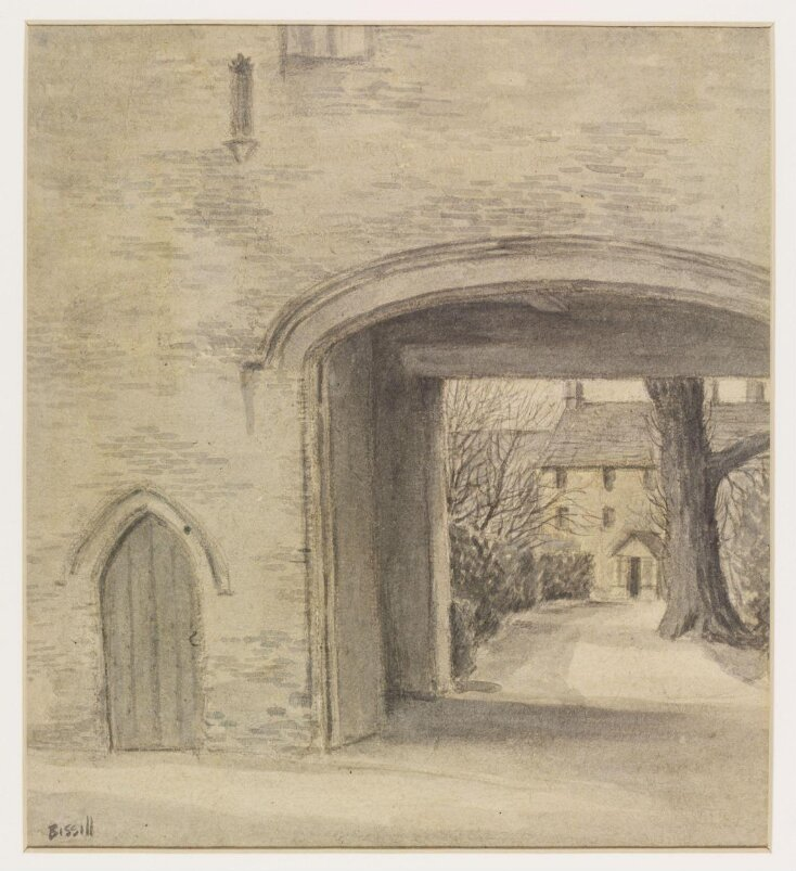 Old Monastery Doorway, now the entrance to Quenington Court, Quenington top image