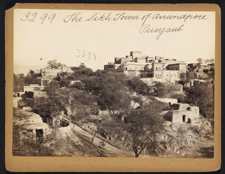 The Sikh Town of Anundpore. Punjaub top image