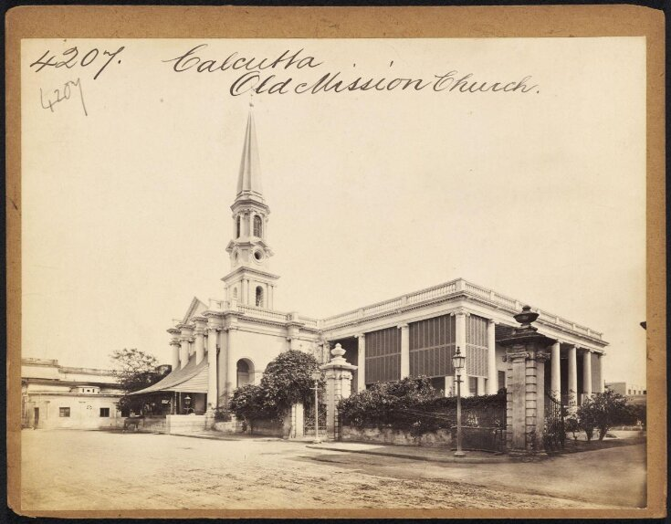 Calcutta.  Old Mission Church top image