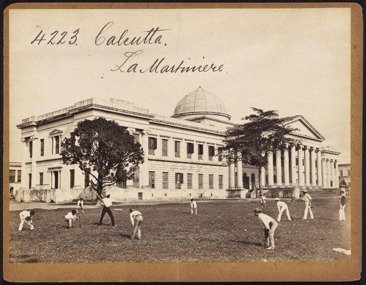 Calcutta.  La Martiniere top image