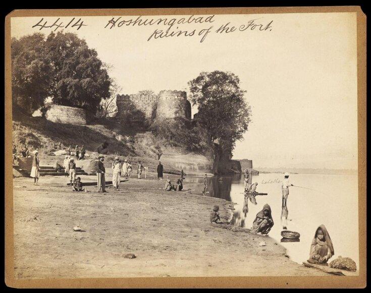 Hoshungabad.  Ruins of the Fort top image