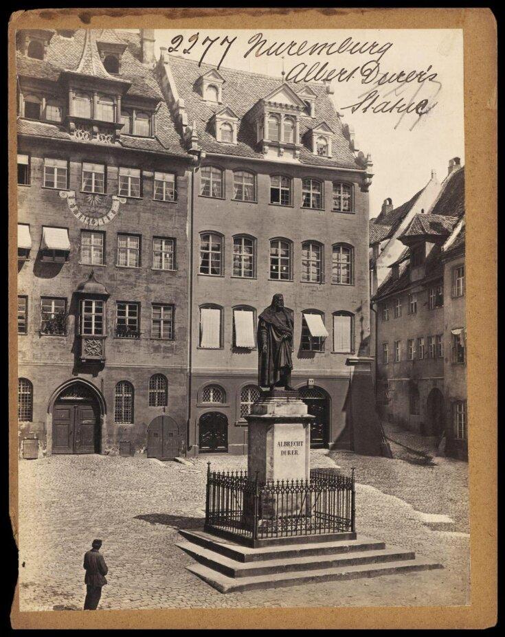 Nuremburg.  Albrecht Durer's Statue top image