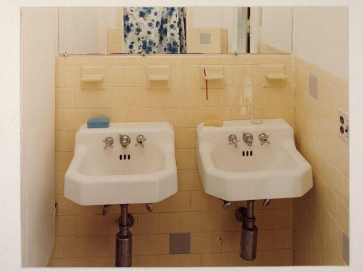 Sinks no. 7 & 8 (Grey Tiles) 1978 top image