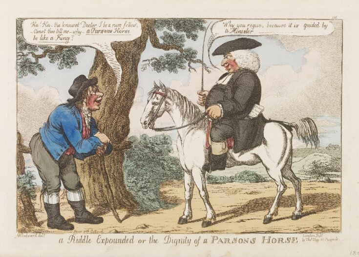 A Riddle Expounded, or the Dignity of a Parsons Horse top image