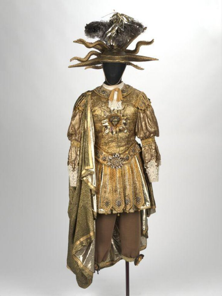 Recreation of the costume worn by Louis XIV as Apollo top image
