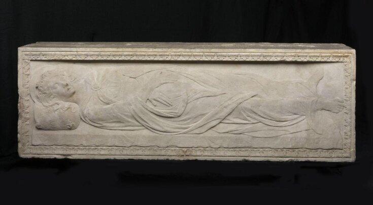 Sarcophagus of Santa Giustina top image