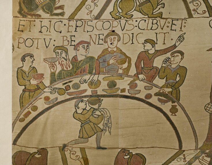 Bayeux Tapestry top image