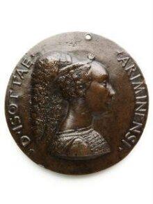 Portrait medal of Isotta degli Atti thumbnail 1