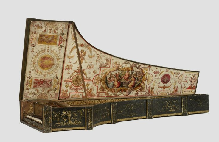 Baffo harpsichord top image