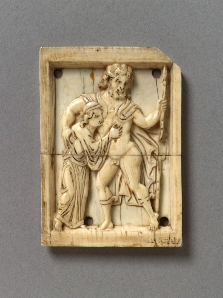 The Drunken Herakles supported by Priapus top image
