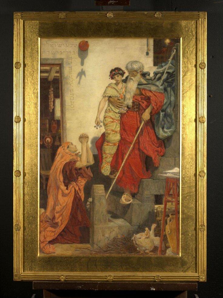 Elijah restoring the widow's son top image