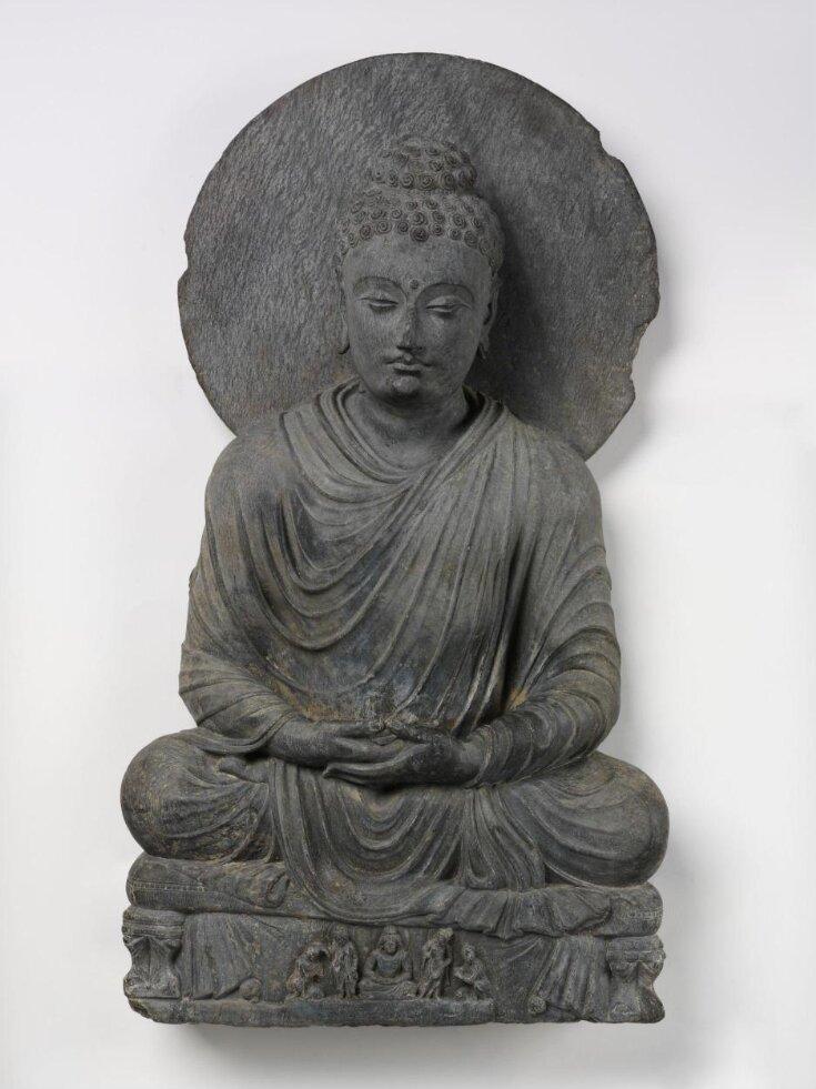 Seated Buddha top image