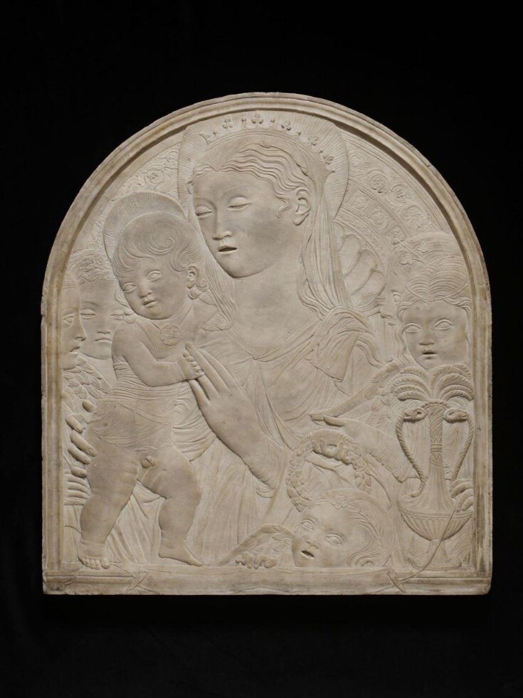 Virgin and Child with five angels top image