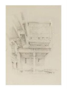 Courtyard of the painter's house, Cairo thumbnail 1
