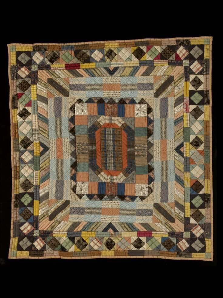 Patchwork Bed Cover top image