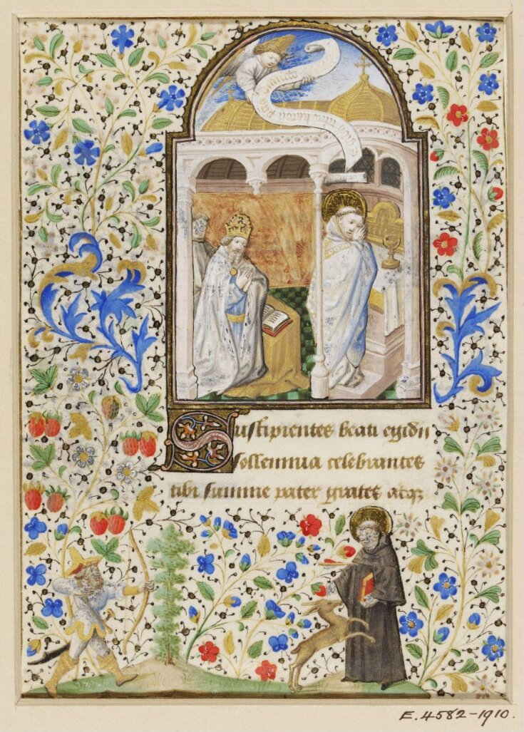 Leaf from a Book of Hours top image