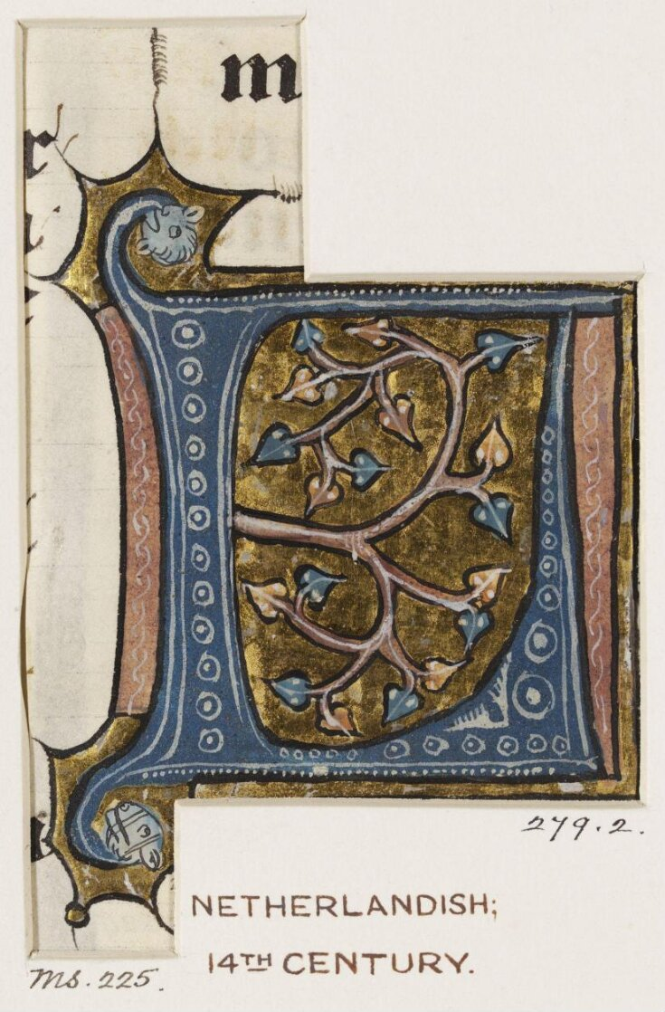 Cutting from the Hastière Bible top image