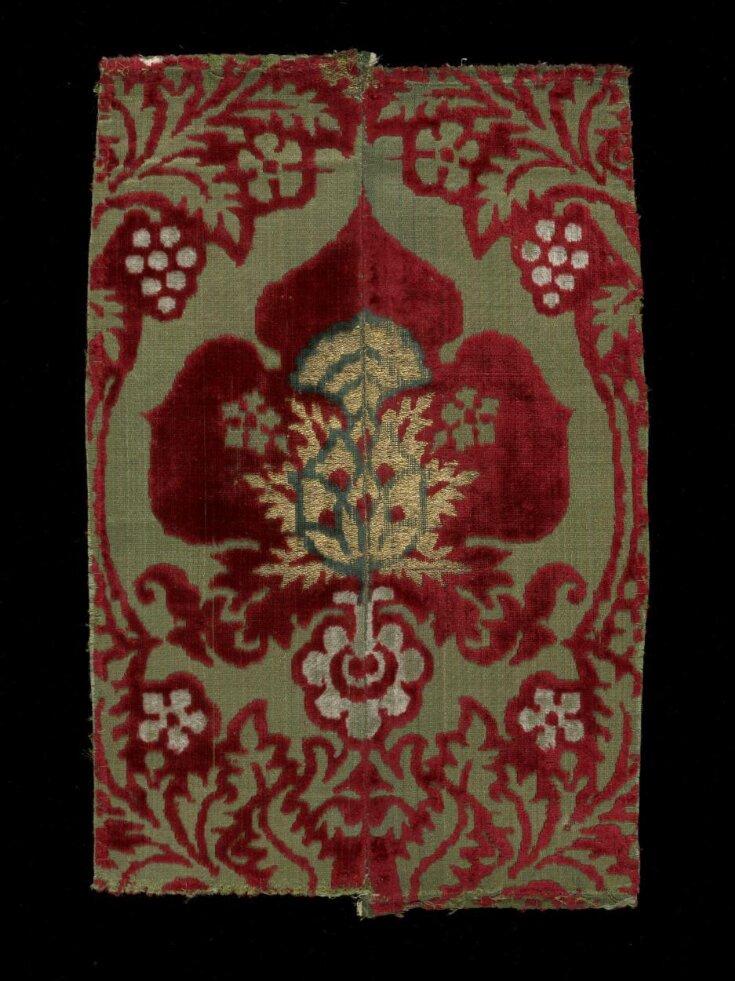 Woven Silk Velvet top image