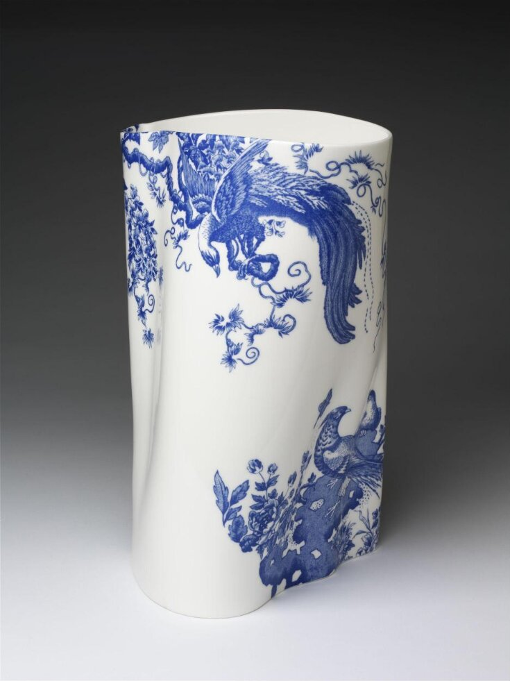 Eastman Blue Aves Vase No.1 top image