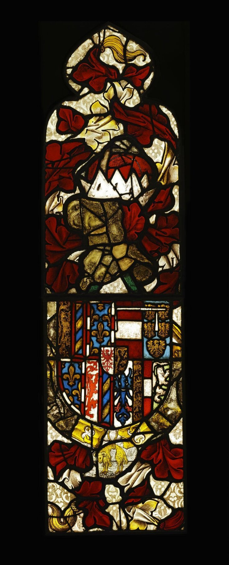 Armorial panel top image