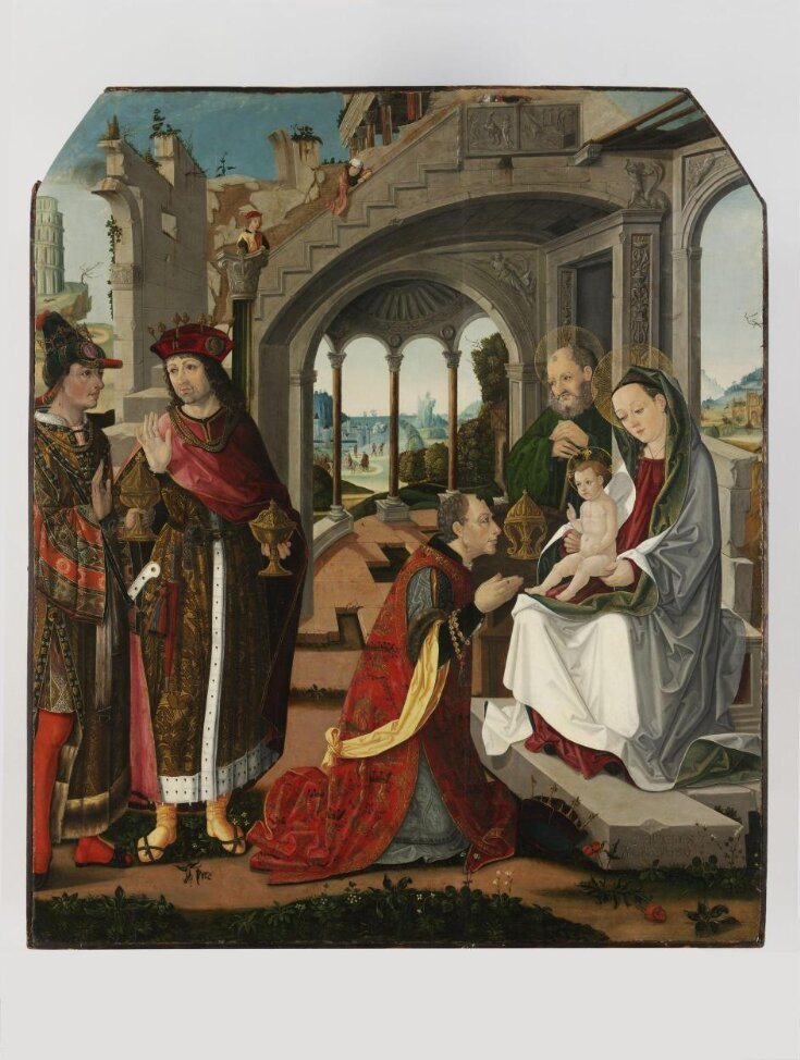 The Adoration of the Magi top image