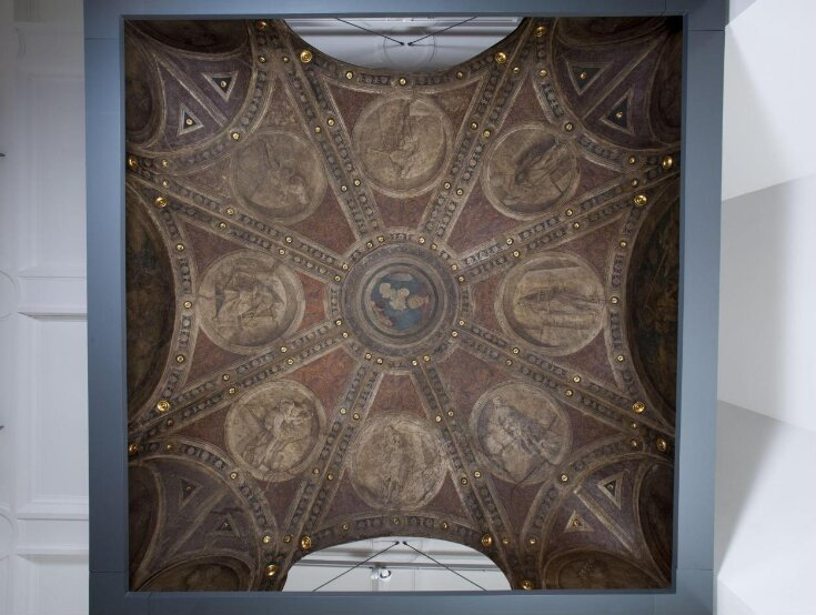 Ceiling from the Casa Maffi, Cremona top image