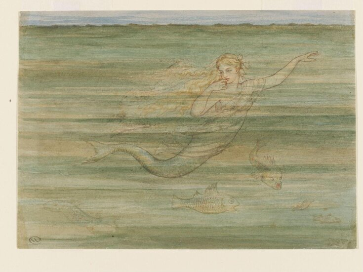 Illustration to The Little Mermaid from Fairy Tales by Hans Christian Andersen top image