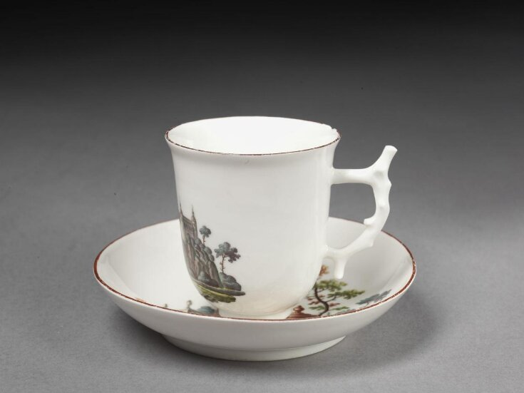 Coffee Cup and Saucer top image