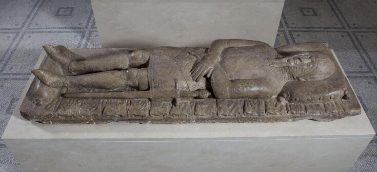 Recumbent effigy of a knight top image