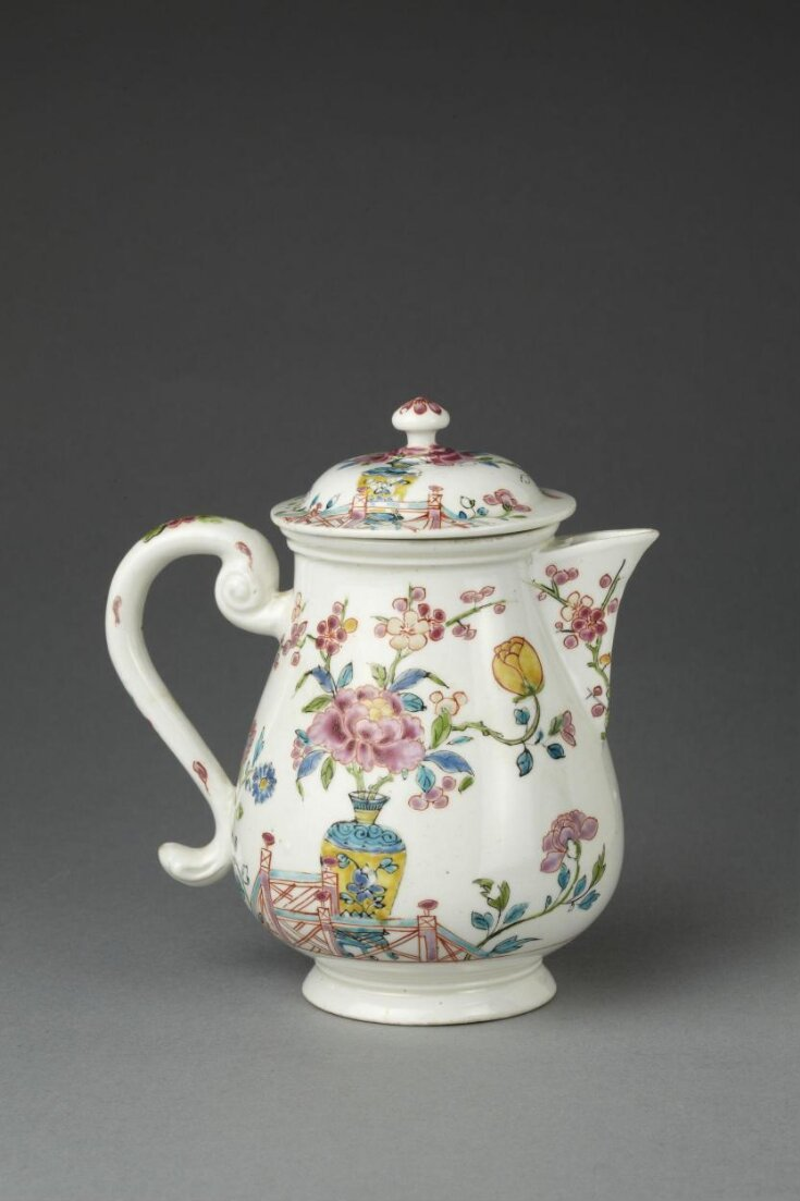 Chocolate Pot and Cover top image