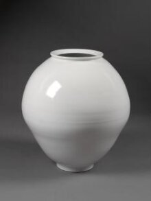 White porcelain jar thumbnail 1