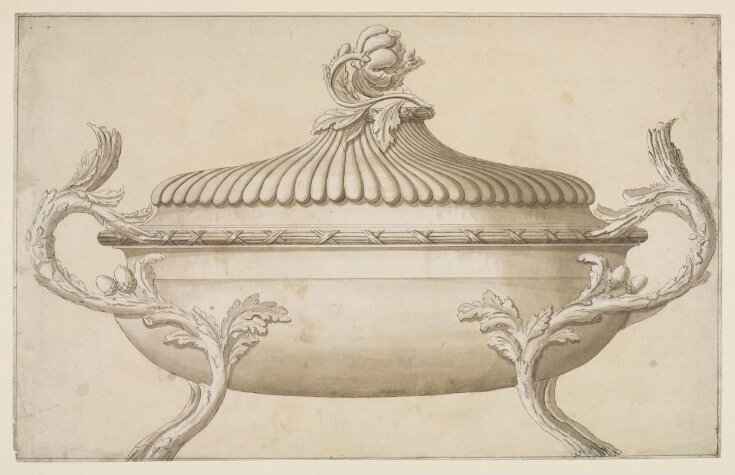 A Design for a Silver Soup Tureen top image