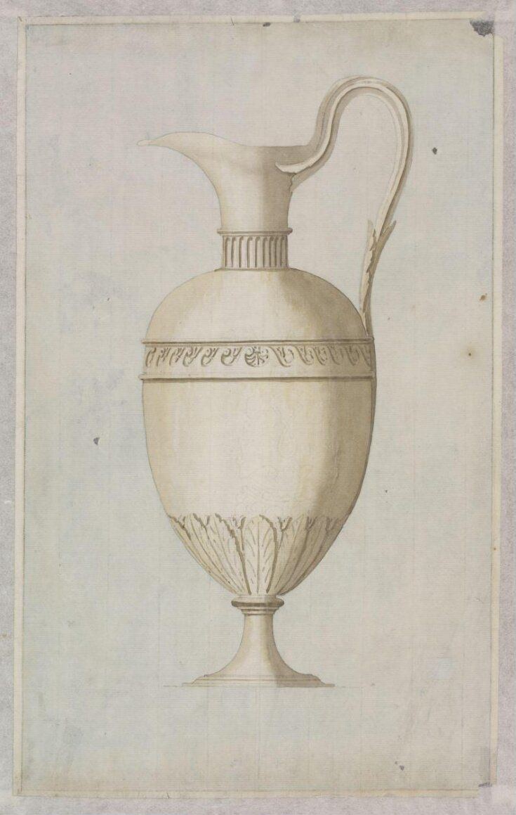 A Design for a Silver Communion Flagon  top image