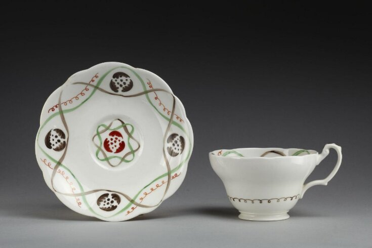 Cup With Saucer and Plate top image