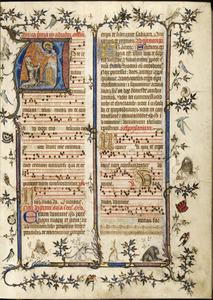 Missal, known as the St Denis Missal top image