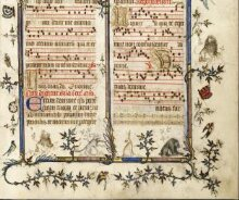 Missal, known as the St Denis Missal thumbnail 1