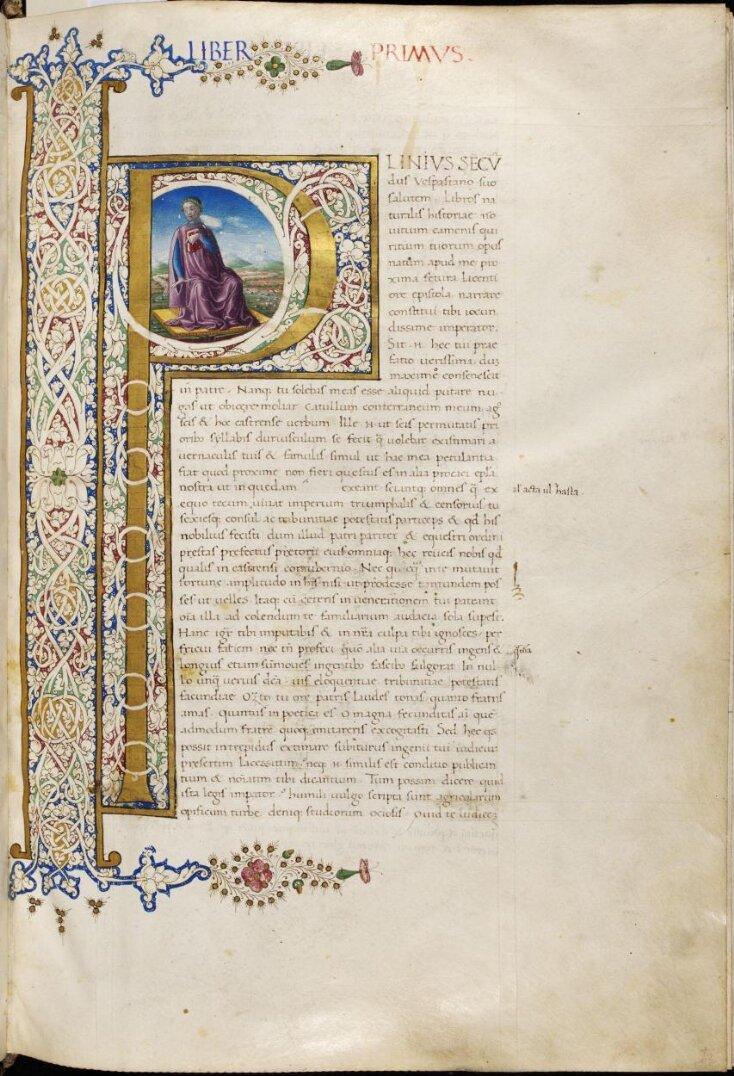 Pliny the Elder, Historia naturalis, in Latin top image