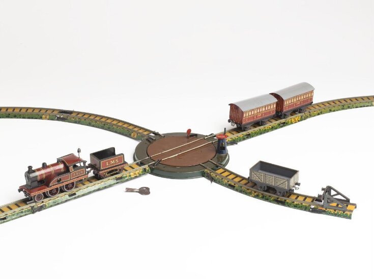 Miniature table railway top image