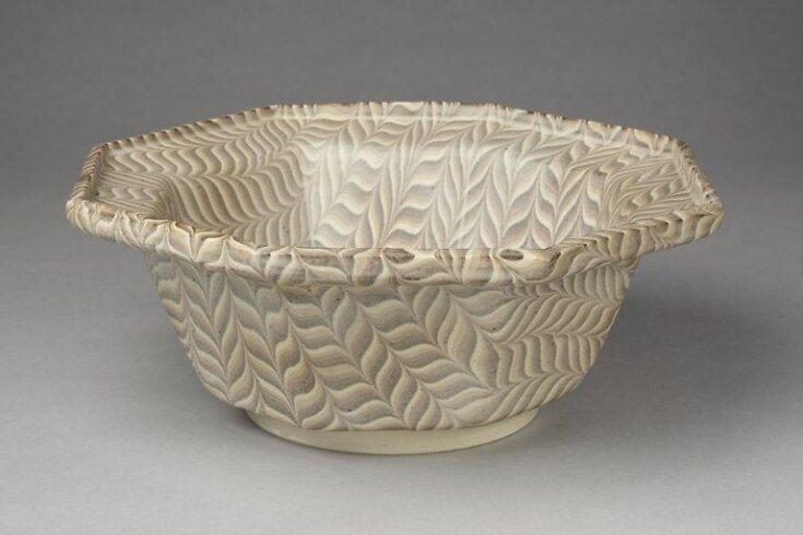Octagonal Bowl top image