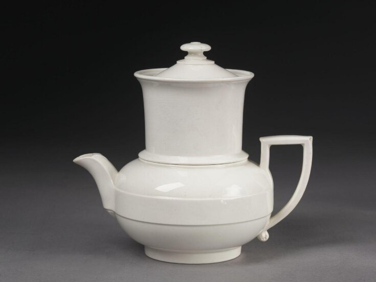 Combined Tea and Coffee Pot top image