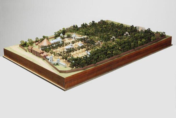 Model of Vauxhall Gardens top image