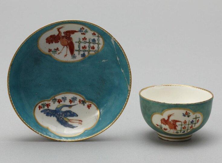 Teacup and Saucer top image