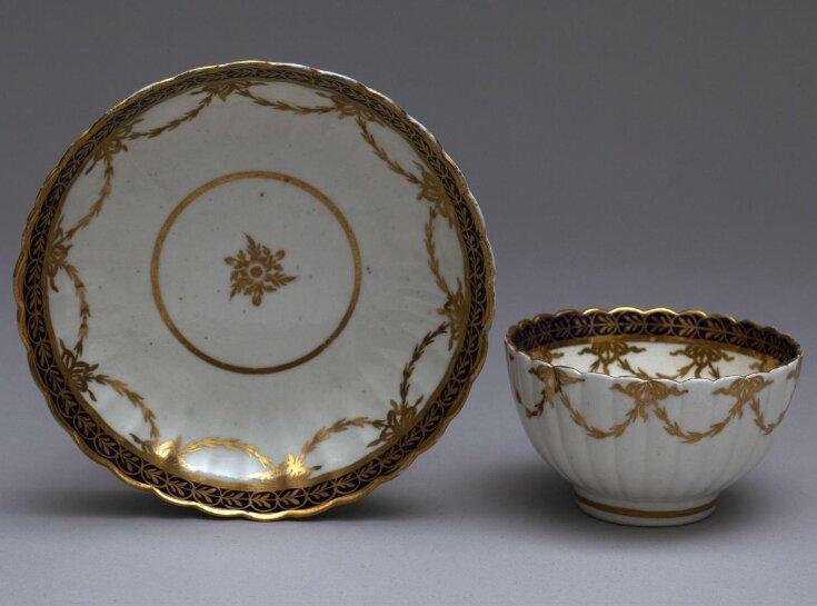 Tea Bowl and Saucer top image