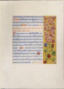 Heures francoises et latines pour Madame L. Gallois thumbnail 1