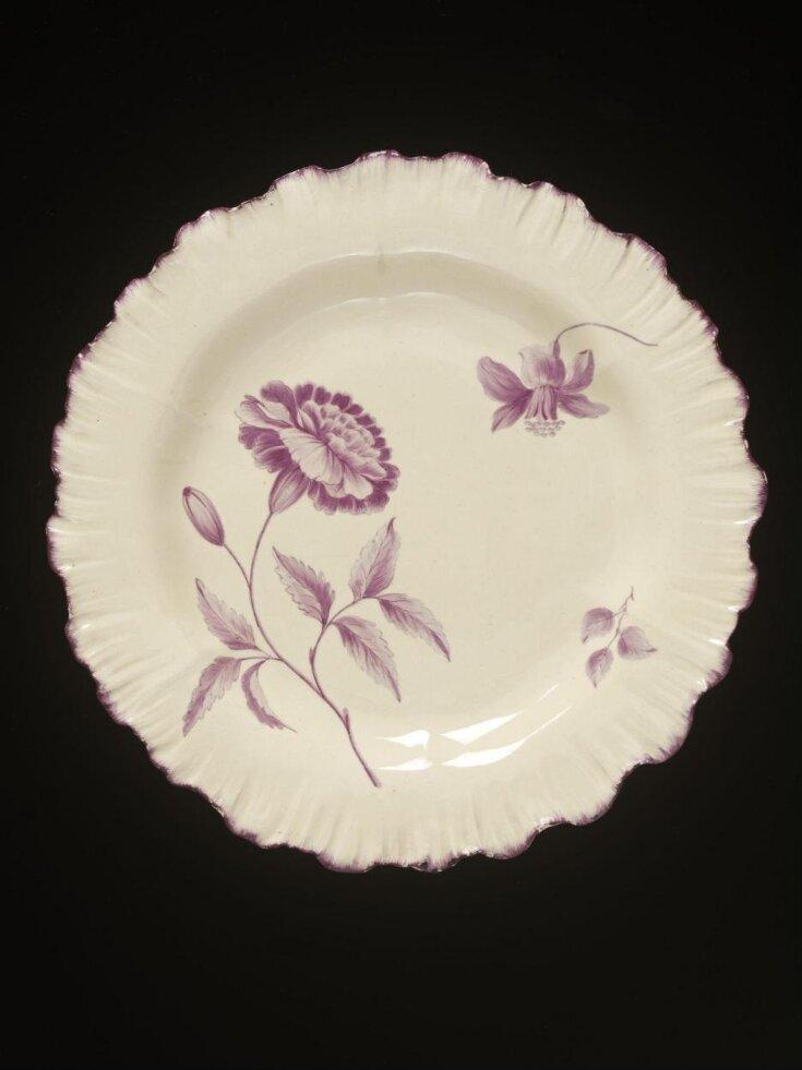 Dessert plate top image