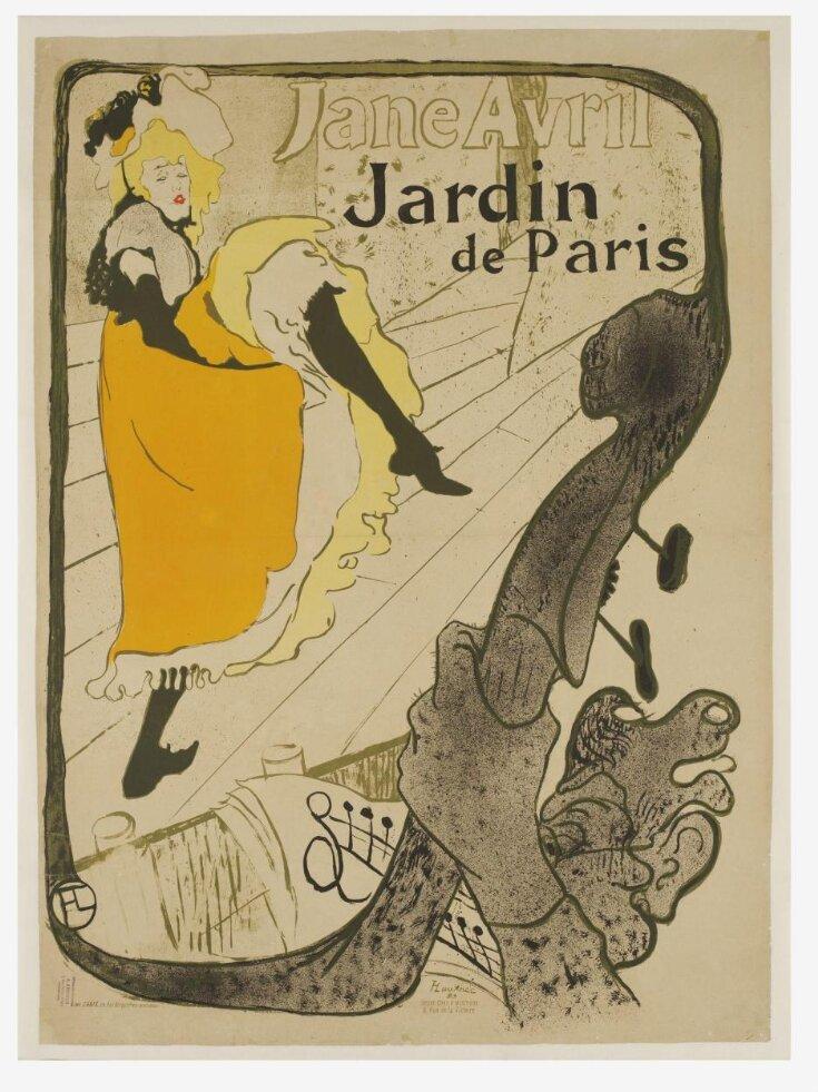 Jane Avril au Jardin de Paris top image
