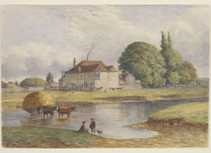 The White Hart, on the River Lea at Temple Mills, Hackney Marshes top image
